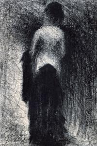 Woman Seen from the Back, C1880-1891 by Georges Seurat