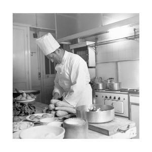 Georges, the Chef for Christian Dior
