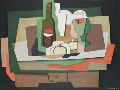Still Life on a Table; Nature Morte Sur Une Table, 1925 by Georges Valmier