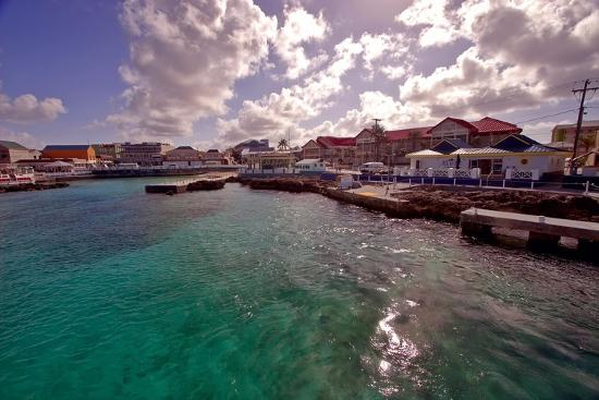 Georgetown Harbor Early Morning Cayman Islands-George Oze-Photographic Print