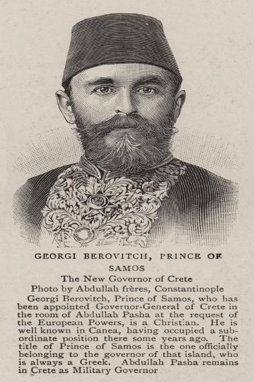 Georgi Berovitch, Prince of Samos--Giclee Print