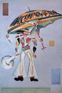 Costume Design for the Operetta Girofle-Giroflia by Ch. Lecocq, 1922 by Georgi Bogdanovich Yakulov
