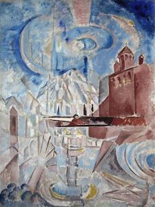 Fantasy, 1910S by Georgi Bogdanovich Yakulov