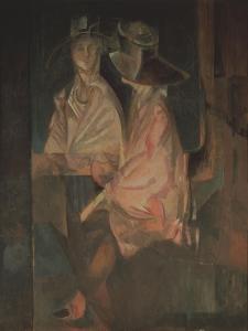 Portrait of the Actress Alisa Koonen (1889-197) by Georgi Bogdanovich Yakulov