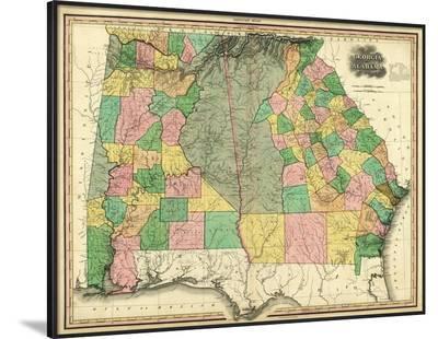 Georgia and Alabama, c.1823-Henry S^ Tanner-Framed Art Print
