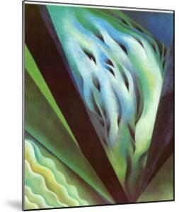 Blue Green Music by Georgia O'Keeffe