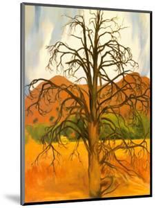 Dead Pinon Tree by Georgia O'Keeffe