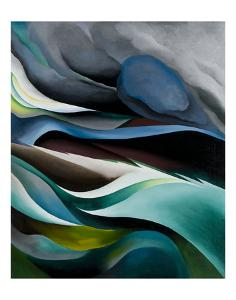 From the Lake No.1, 1924 by Georgia O'Keeffe