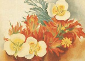 Mariposa Lilies by Georgia O'Keeffe