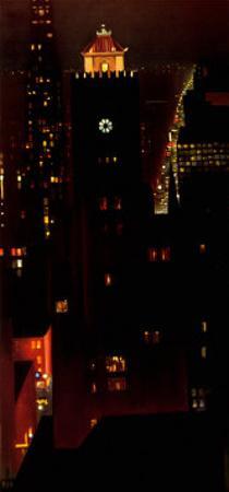 New York Night by Georgia O'Keeffe