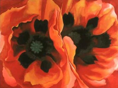 Oriental Poppies (Med) by Georgia O'Keeffe