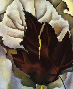 Pattern of Leaves, 1924 by Georgia O'Keeffe