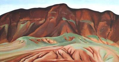 Purple Hills Ghost Ranch by Georgia O'Keeffe