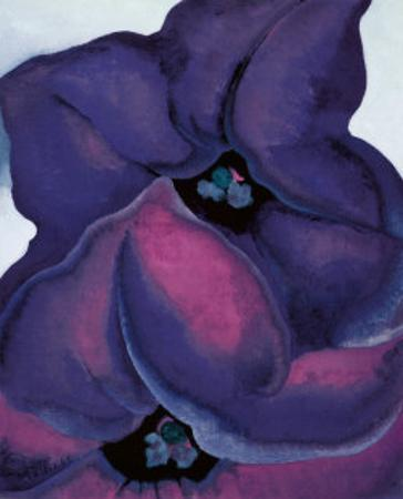 Purple Petunias, 1925