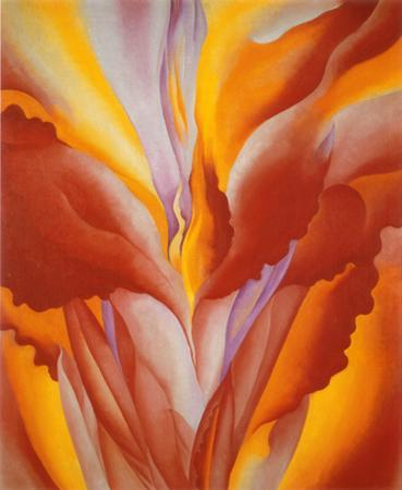 Red Canna by Georgia O'Keeffe
