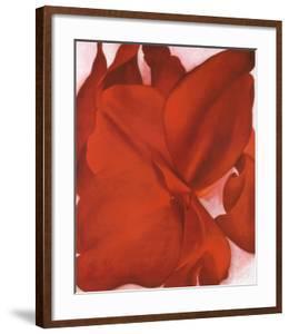 Red Cannas by Georgia O'Keeffe