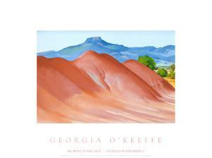 Red Hills with Pedernal, 1936 by Georgia O'Keeffe