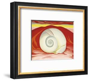 Red Hills with White Shell, c.1938 by Georgia O'Keeffe