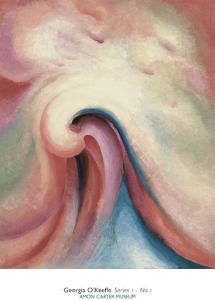 Series 1, No. 1, c.1918 by Georgia O'Keeffe