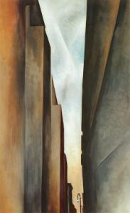 Street by Georgia O'Keeffe