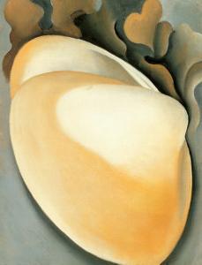 Tan Clam Shell by Georgia O'Keeffe