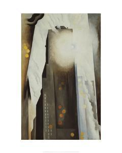 The Shelton with Sunspots, N.Y., 1926 by Georgia O'Keeffe