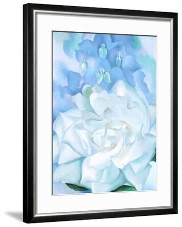 White Rose W/ Lakspur No.2