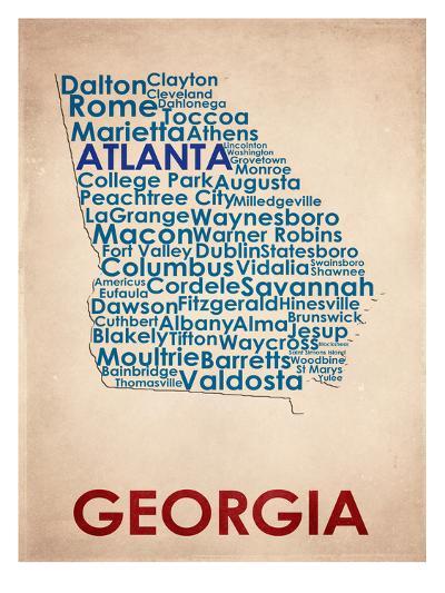 Georgia--Art Print