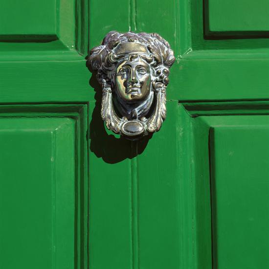 Georgian Door, Dublin, County Dublin, Republic of Ireland, Europe-Stuart Black-Photographic Print