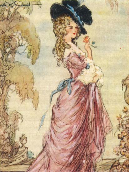 Georgiana, Duchess of Devonshire, 1937-Alexander K MacDonald-Giclee Print