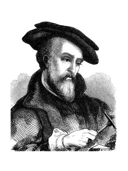 Georgius Agricola (1494-155), German Physician, Mineralogist and Metallurgist, 1881--Giclee Print