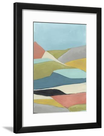 Geoscape II-June Vess-Framed Art Print