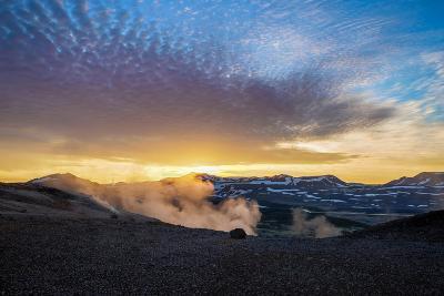 Geothermal Hot Springs, Mud Pots and Fumaroles, Namaskard Close to Lake Myvatn, Northern, Iceland-Ragnar Th Sigurdsson-Photographic Print