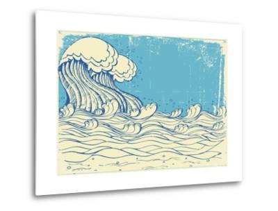 Huge Wave In Sea
