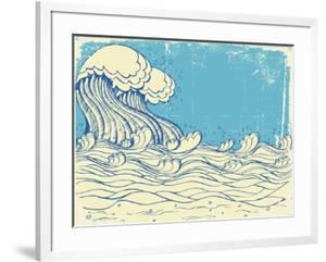Huge Wave In Sea by GeraKTV