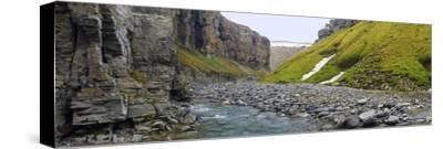 Gull Canyon and River, Somerset Island, Nunavut