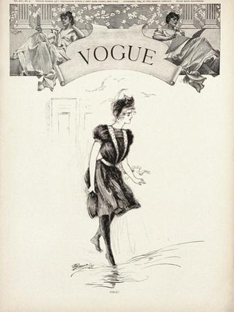 Vogue Cover - July 1899 by Gerald Green