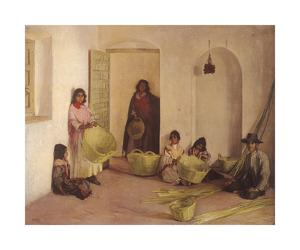 The Basket Makers, Seville by Gerald Kelly