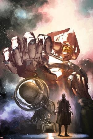 S.H.I.E.L.D. No.3 Cover: Gallactus