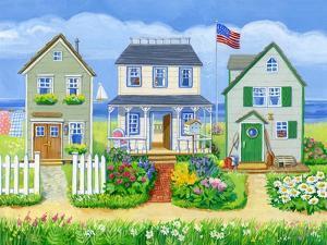 Beach Cottages by Geraldine Aikman