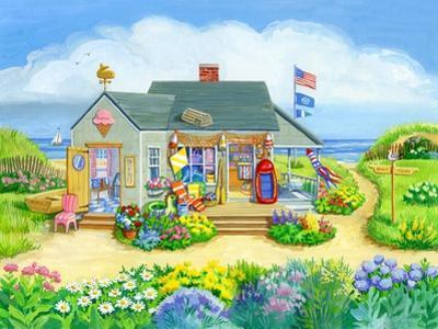 Beach Store by Geraldine Aikman