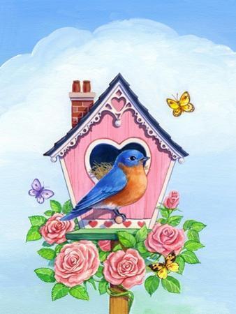 Bluebird Valentine by Geraldine Aikman
