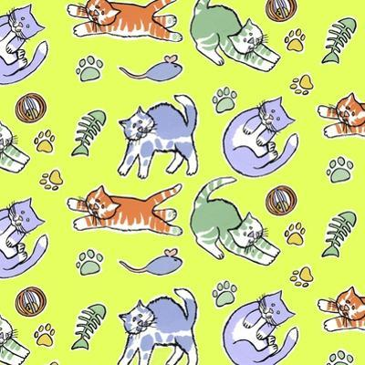 Fun Kitties Repeat by Geraldine Aikman