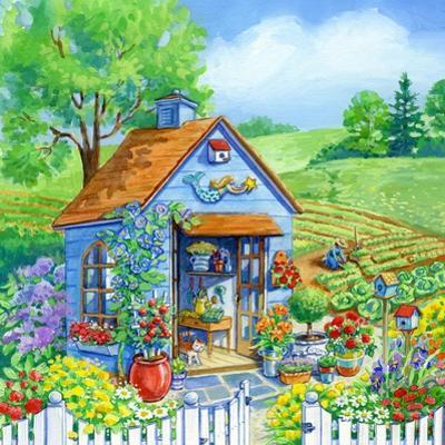 Garden Shed by Geraldine Aikman