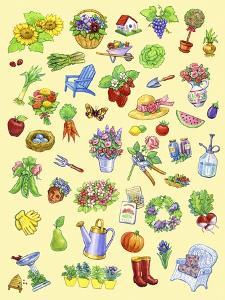 Garden Theme by Geraldine Aikman