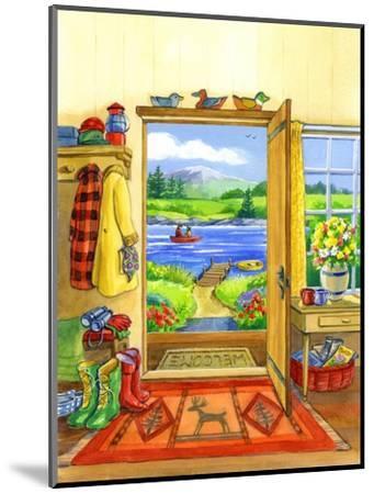 Getaway Cabin by Geraldine Aikman