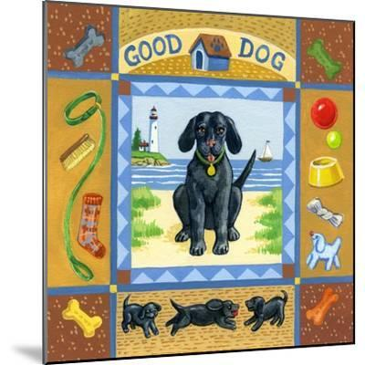 Good Dog Black Lab by Geraldine Aikman