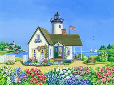 Lighthouse Cottage by Geraldine Aikman
