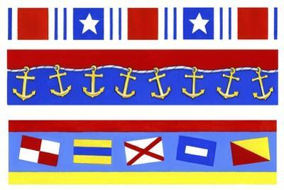 Nautical Borders by Geraldine Aikman
