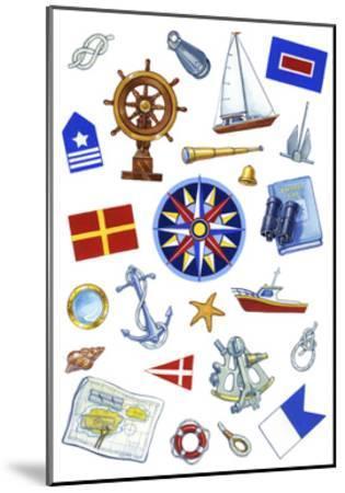 Nautical Theme Icons by Geraldine Aikman